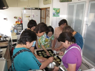7月例会 『お菓子作り』