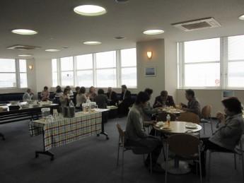 平成26年度通常総会・玉野市長との懇談会を開催