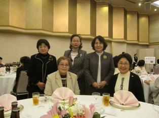 津山商工会議所女性会創立40周年記念式典へ参加