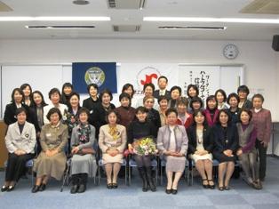 国際ソロプチミスト玉野・玉野商工会議所女性会・玉野法人会女性部合同例会を開催