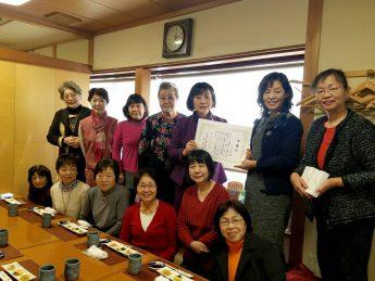 12月例会・フラワーアレンジメント&忘年会・在籍30年会員表彰