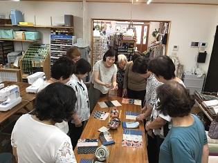 6月例会・手作り雑貨教室を開催