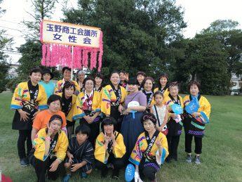 第50回玉野まつりおどり大会&8月例会夏の懇親会を開催